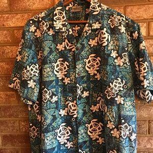 Royal Creations reverse print Hawaii shirt